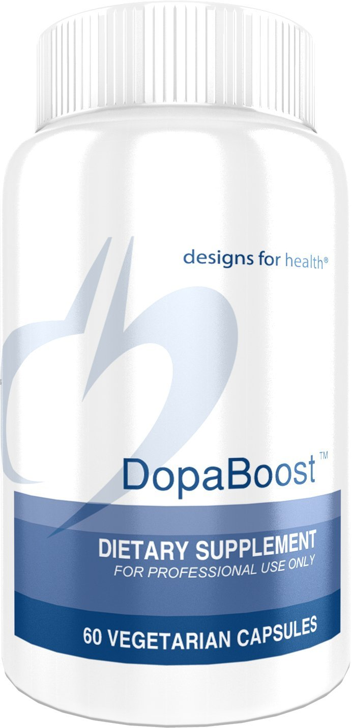 Designs for Health DopaBoost – Dopamine Support with Mucuna Pruriens Vitamin B6 60 Capsules