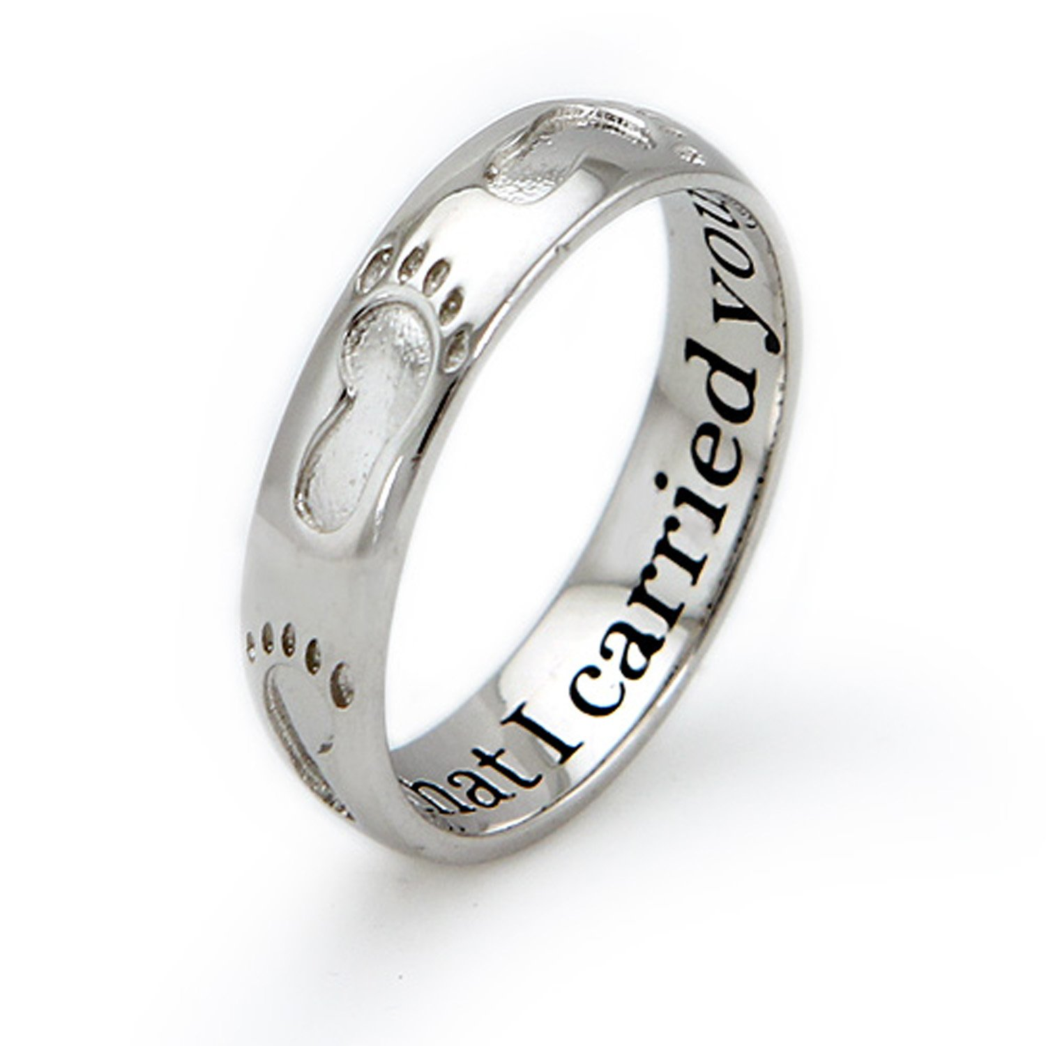 script gifts rings zoom rg ring between baby jewelry james footprint categories avery initial