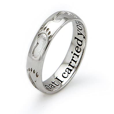 Tioneer Sterling Silver Footprints in the Sand Ring ghNqwtll