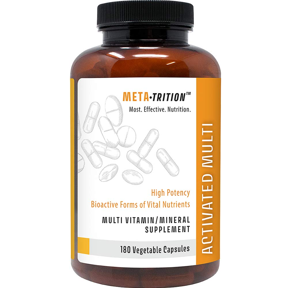 Metatrition Activated Multi Mineral Combinations, 180 Count