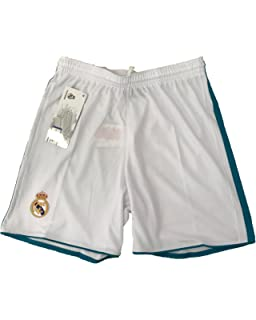 timeless design e7e0a e4d20 REAL MADRID C.F... Pantalone Real Madrid Pantaloncini Replica Autorizzata  Ufficiale Bambino Adulto 2017-