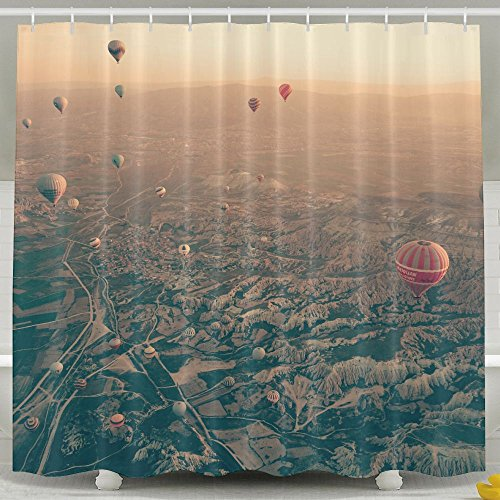 Xiaobaby Aerial Hot Air Balloon Aerial Landscape Sky