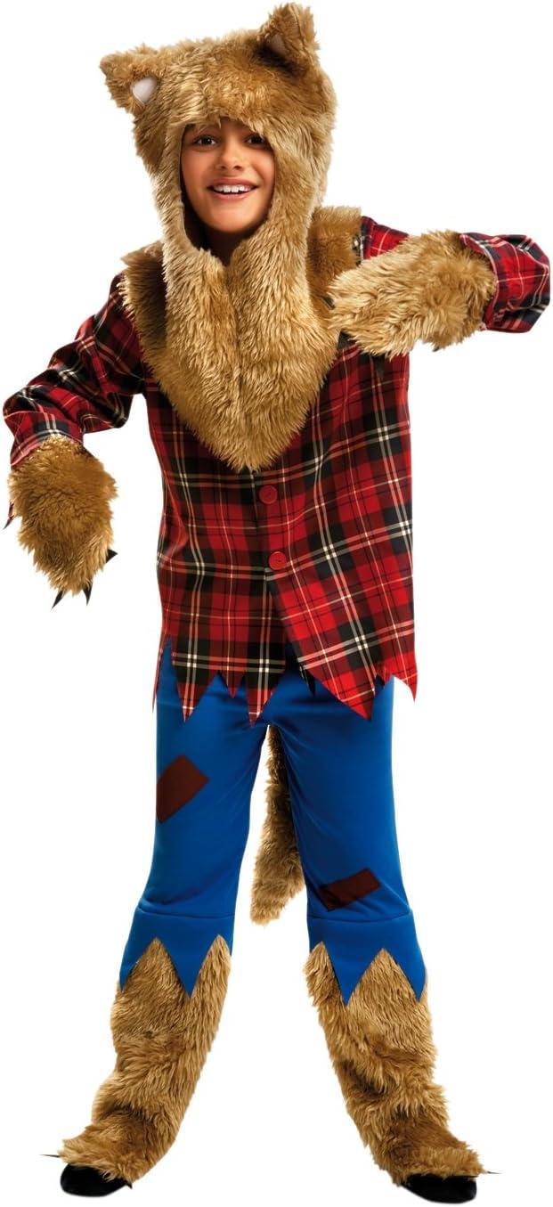 My Other Me - Disfraz de hombre lobo, para niños de 5-6 años ...