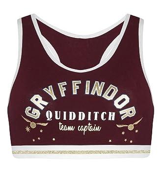 b16426ab0556f4 Primark Harry Potter Gryffindor Quidditch Team Captain Crop Top ...