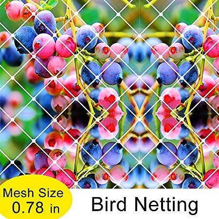 White 6x25ft Agfabric Garden Bird Netting Anti Bird Protection Net Fruit Vegetables Flower Garden Pond Netting