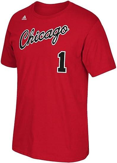 Outerstuff Derrick Rose Chicago Bulls #1 NBA Youth Climalite Player T Shirt
