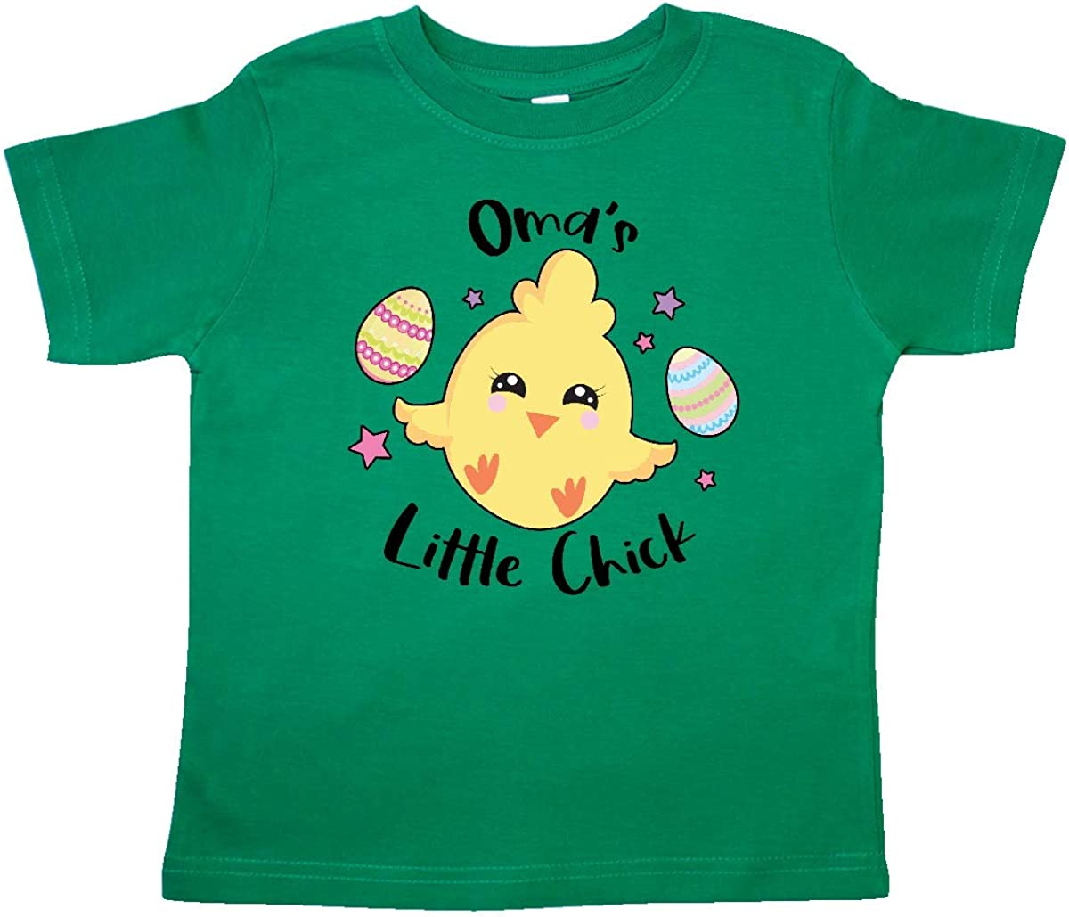 inktastic Happy Easter Omas Little Chick Toddler T-Shirt