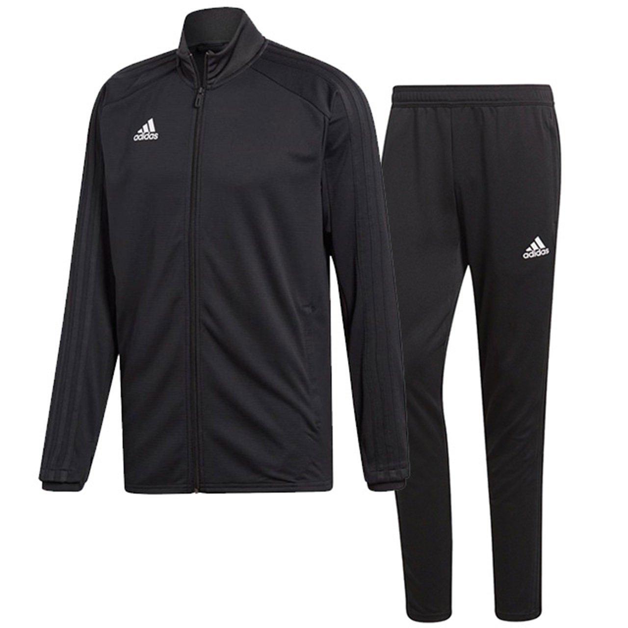 アディダス(adidas) CONDIVO18 トレーニングウエア 上下セット(ブラック/ブラック) DJV56-CG0404-DJU99-BS0526 B0798BPTZ4 日本 J/S-(日本サイズS相当)|ブラック/ブラック ブラック/ブラック 日本 J/S-(日本サイズS相当)