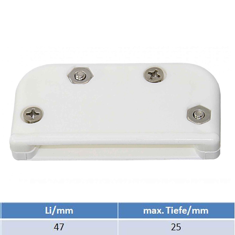 Lattentaschenschutz zum Schrauben - 25 Stk. B076H5BRHJ Deckbeschlge Ausgezeichnete Ausgezeichnete Ausgezeichnete Qualität fe8c6f