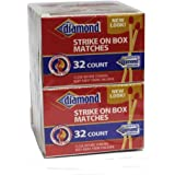 Diamond 10 Pack Strike on Box 32 Count Matches