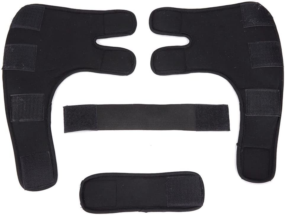Small, Black Coerni Dog Recovery Sleeve 1 Pair Dog Elbow Protector S//M//L