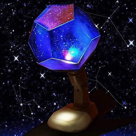 Star Night Light Projector 12 Constelación Universo Giratorio ...