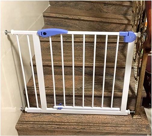ZEMIN Barrera De Seguridad Escalera Puerta for Niños Perros Déjala Abierta Ajuste Portátil Desbloquear, Multi-tamaño (Color : H 76CM, Size : W 175-182CM): Amazon.es: Hogar