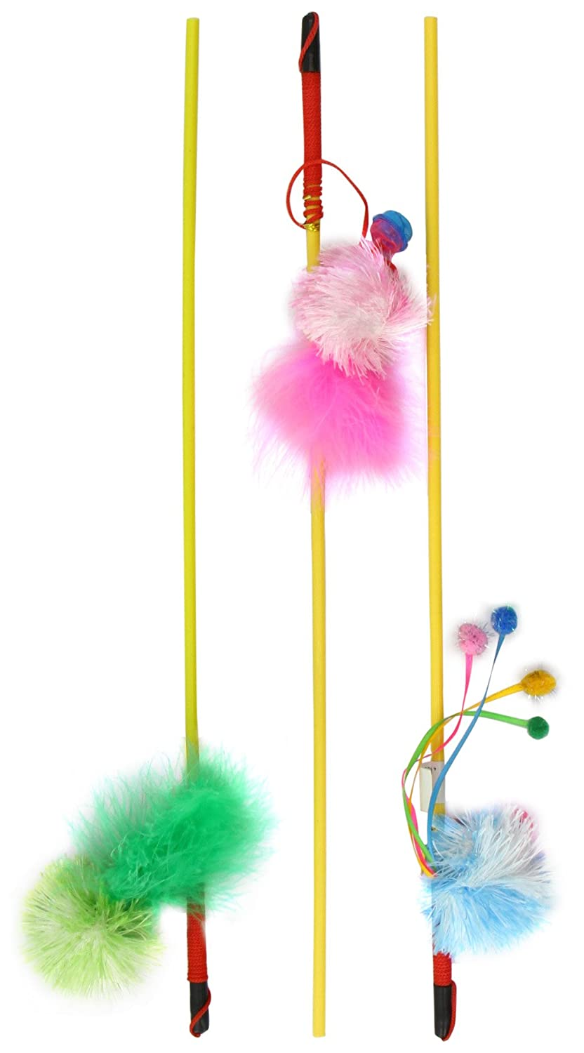 Nobby Rod with Plush (Pack of 36), Pack of 36