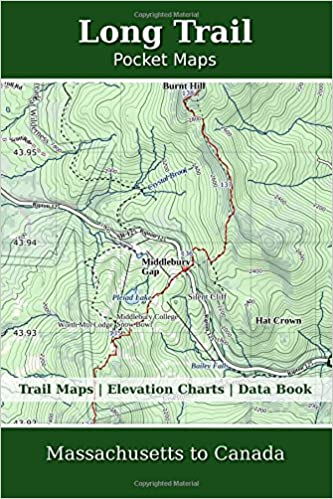 Long Trail Pocket Maps: K Scott Parks: 9781985668690: Amazon.com: Books