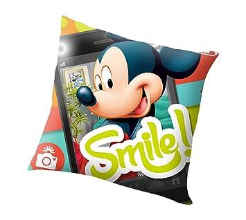 Kids Cojin Mickey Disney Smile!: Amazon.es: Juguetes y juegos
