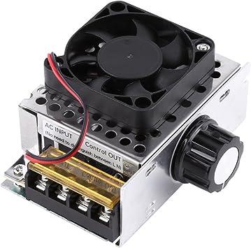 AC 220V 4000W SCR Regulador de Voltaje Eléctrico Módulo de ...
