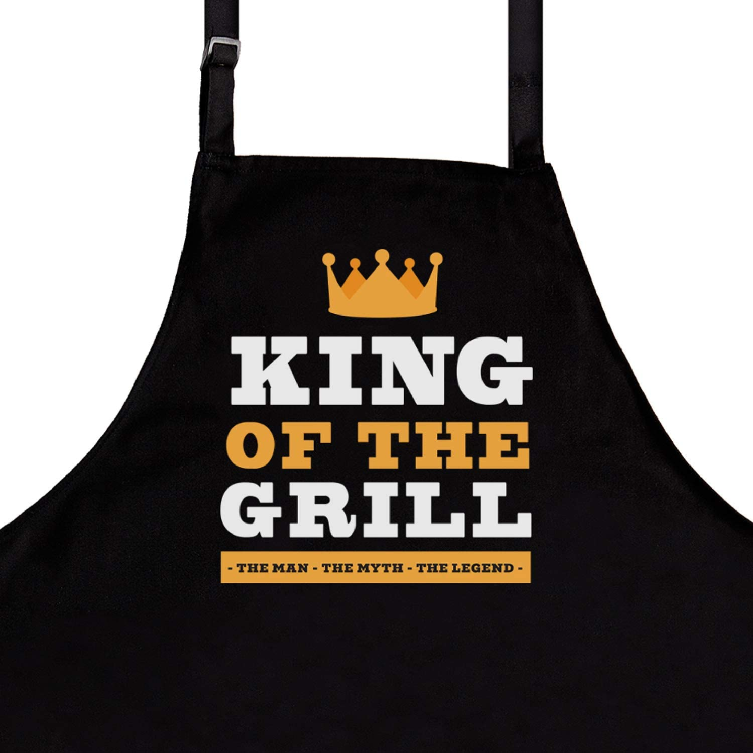 Apron Gift for Dad The GrillMaster Apron Grilling Barbecue Apron Husband or Grandpa Funny Apron