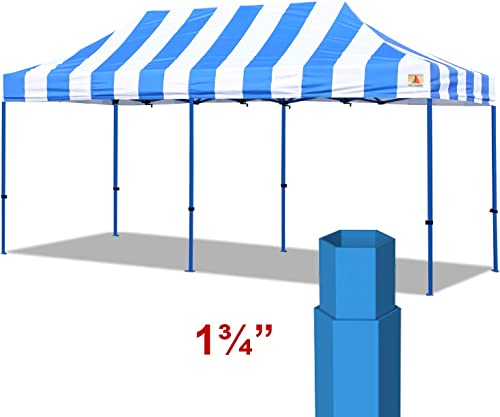 ABCCANOPY Professional 10 x20 Easy Pop-up Canopy Tent Commercial Instant Shelter