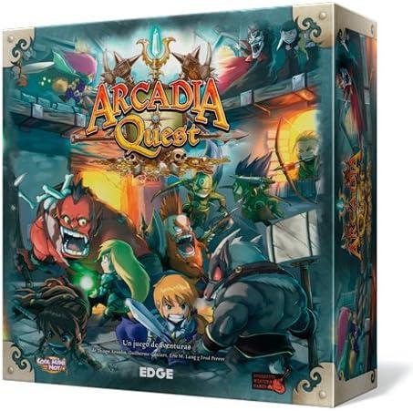 Edge Entertainment Arcadia Quest - Arcadia Quest, Juego de Mesa AQ01: Amazon.es: Juguetes y juegos