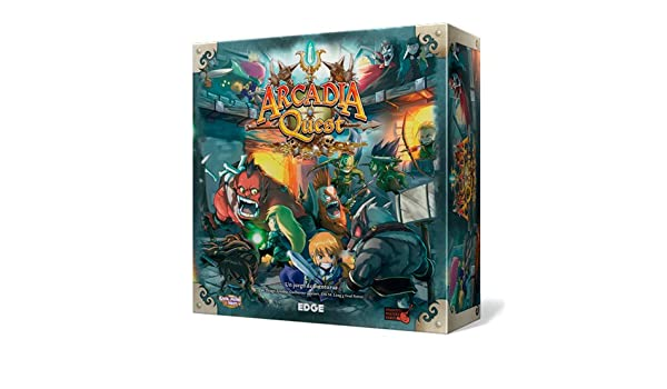 Amazon.com: Arcadia Quest Quest, Table Game (Edge ...