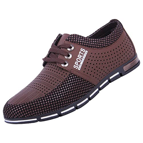 CUSTOME Hombres Zapatos de Agua Malla Plano Traje de Neopreno Suave Respirable Al Aire Libre Ligero Casual Ejercicio Zapatos