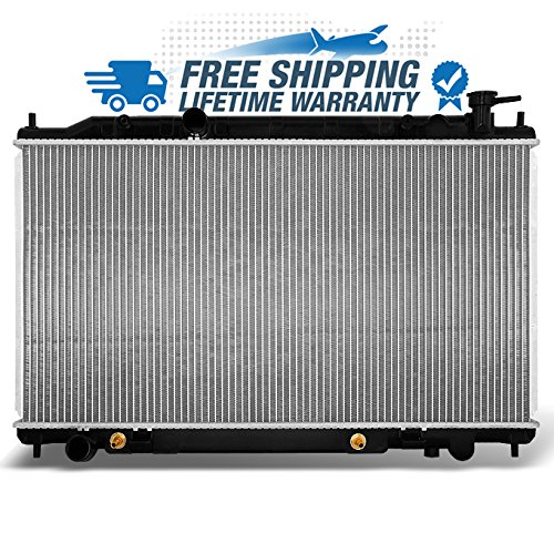2004 Nissan Altima Radiator - For L4 2.5L 4CYL Altima 2414 Aluminum Radiator Direct Bolt On Replacement Assembly
