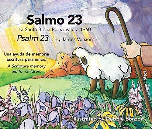 (Psalm 23 KJV, English and Spanish)
