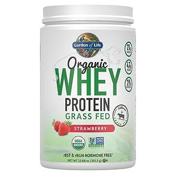 Organic grass fed protein powder