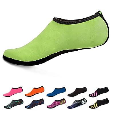 Women Barefoot Water Skin Shoes Quick-Dry Aqua Socks For Beach Pool Swim Dive Surf Yoga
