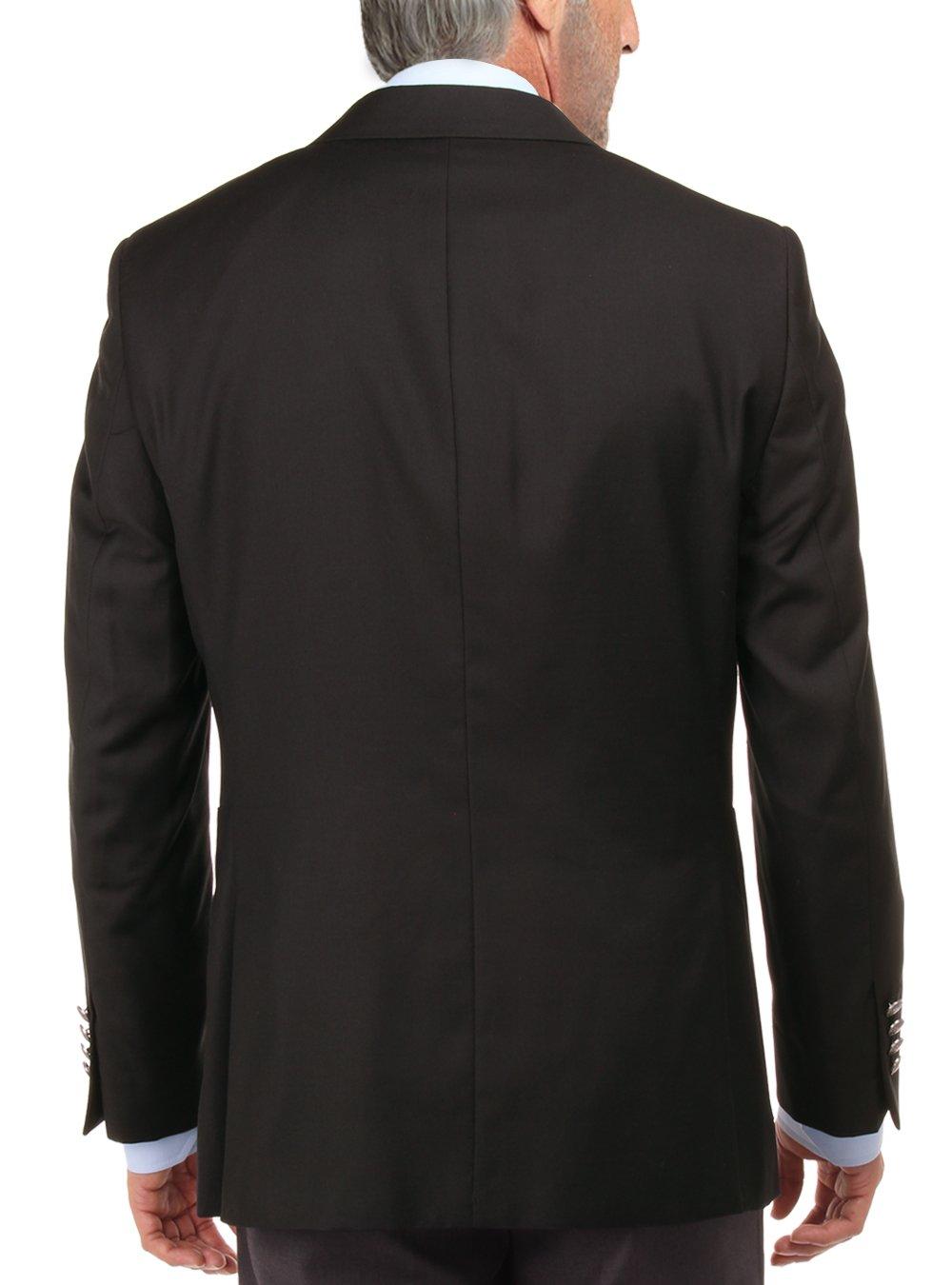 Salvatore Exte Men's 2 Button Suit Separate Jacket Sport Coat Blazer (42 Short US/52S EU,Black) by Salvatore Exte (Image #2)
