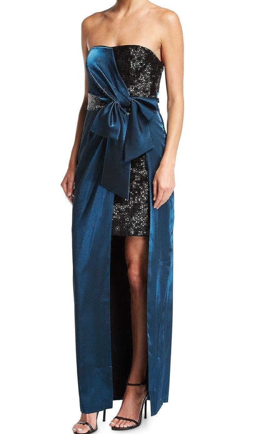 Pacific Aidan Mattox Womens Strapless FullLength Special Occasion Dress