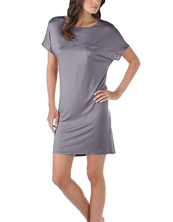 9c59a5aa276c Mey 11933-420 Women s Selina Shale Grey Night Gown Loungewear Nightdress 8