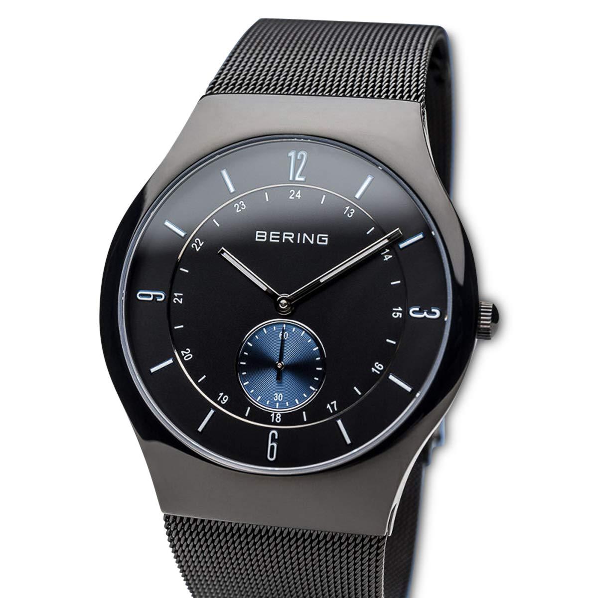BERING Reloj Analógico para Hombre de Cuarzo con Correa en Acero Inoxidable 11940-228: Amazon.es: Relojes