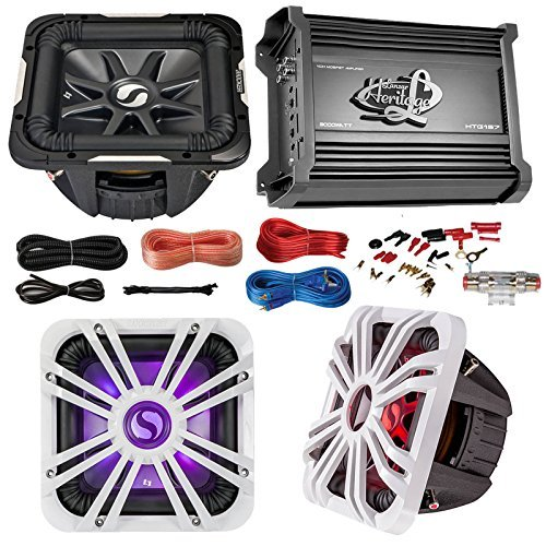 (Car Subwoofer And Amp Combo: Kicker S10L74 10