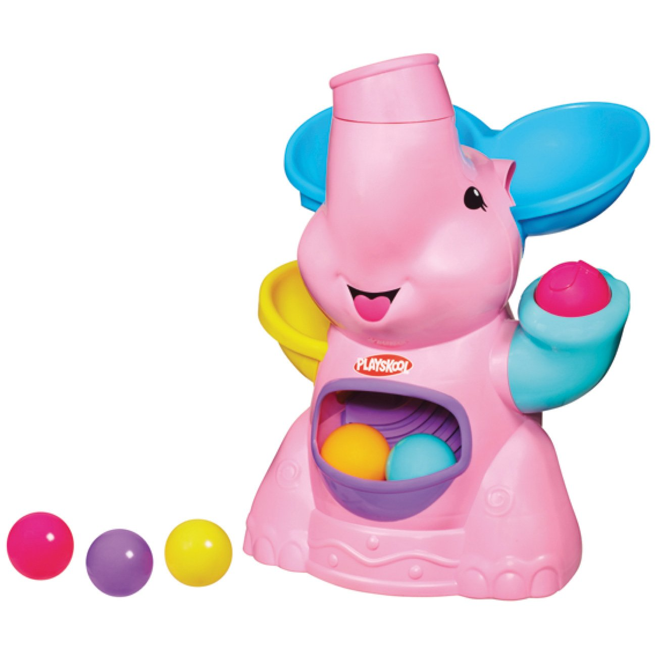 Hasbro Playskool 31943E24 - Blauer Kullerfant, Vorschulspielzeug M28760 Kleinkind / Krabbelspielzeug Sonstiges erstes Spielzeug