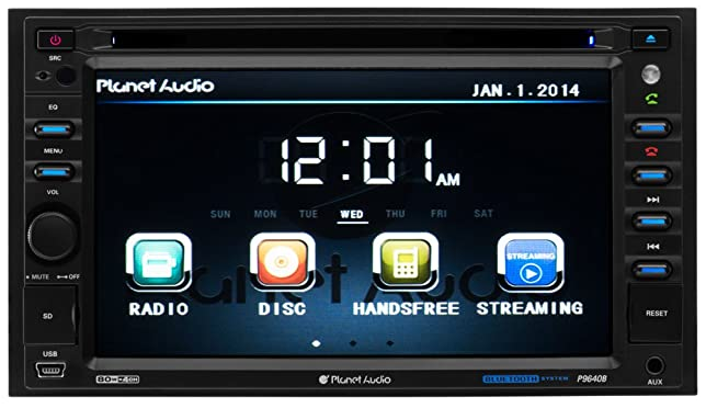 61MXZ8r4rpL._SX644_ amazon com planet audio p9640b double din, touchscreen, bluetooth planet audio p9740 wire diagram at gsmx.co
