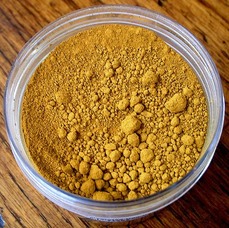 Yellow Ochre Pure Powdered Pigment 1 ounce jar ()