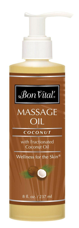 Bon Vital BVCO8Z Coconut Oil, 8-Ounce