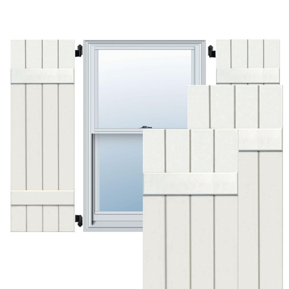 Ekena Millwork CWB15X047WHC Exterior Four Board