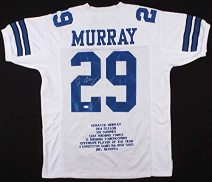 sports shoes 3d321 188c2 Demarco Murray Autographed Signed Cowboys Career Highlight ...
