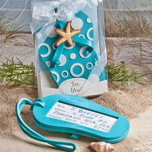 Flip Flop Luggage Tag Favors (60) by FASHIONCRAFT