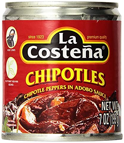La Costena Pepper Chipotle,7 oz - La Costena Chipotle
