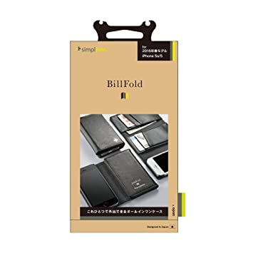 11ca5c5c5f Amazon | Simplism iPhone SE/5s/5 [BillFold] フリップノートカード ...