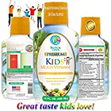 Premium Children's Liquid Multivitamin & Superfood - 100% Daily Value of 14 Vitamins, 66 Minerals and 23 Amino Acids for Kids Ages 4+. Great Tasting, Non-GMO, Sugar Free - Max Absorption! - 32 Serv.