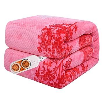 Manta eléctrica, doble, doble control, manta impermeable de seguridad,180 * 200cm: Amazon.es: Salud y cuidado personal