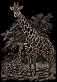 Royal and Langnickel Copper Engraving Art, Giraffe and Baby