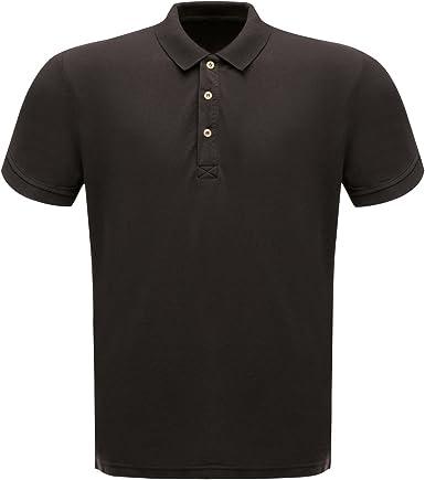 White Regatta Professional Mens Classic Short Sleeve Plain Polo Shirt L
