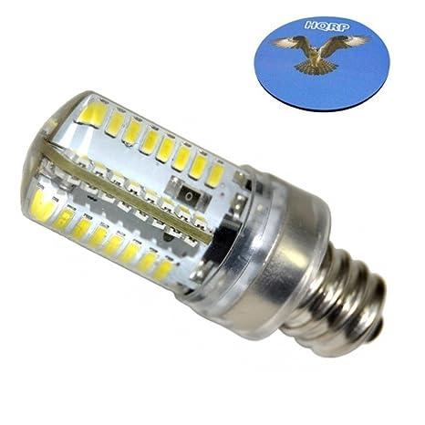 HQRP – E12 candelabro Base LED Bombilla Blanca Fría AC 110 V para LG 6913el3001 a