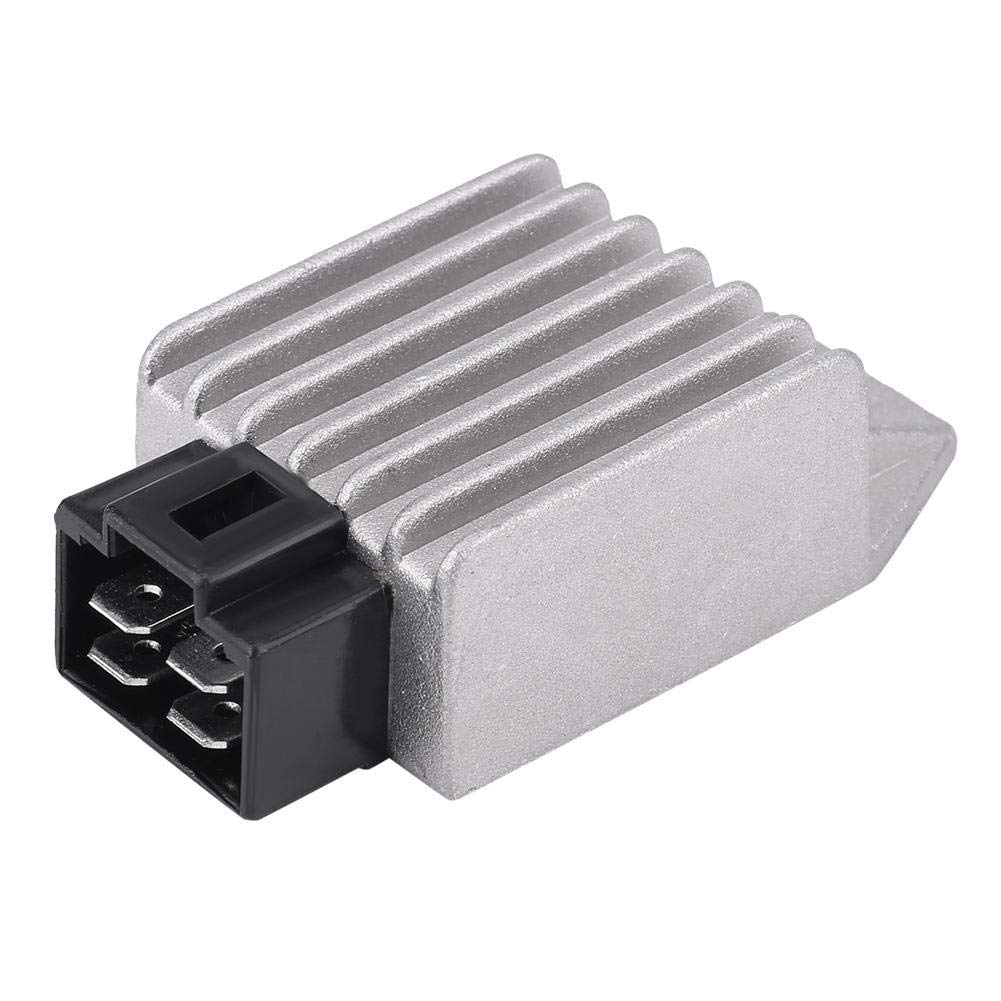 4-Pin 12V Male Plug Voltage Rectifier for 50cc to 150cc ATV Moped GY6 Scooter Universal Voltage Regulator Rectifier